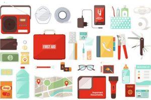 Emergency kit gear
