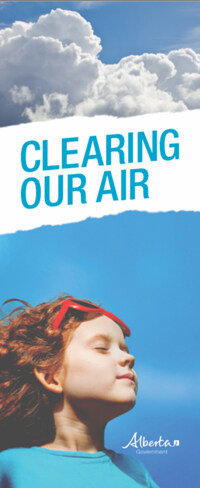 Cover of the brochure Clearing Our Air